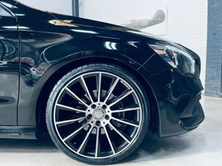 2018 Mercedes-Benz CLA-Class C117 809MY CLA200 DCT Black 7 Speed Sports Automatic Dual Clutch Coupe.
