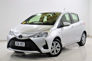 2018 Toyota Yaris NCP130R MY17 Ascent Silver 4 Speed Automatic Hatchback.