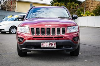 2012 Jeep Compass MK Sport Red 5 Speed Manual Wagon.