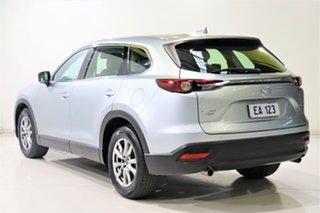 2016 Mazda CX-9 TC Touring SKYACTIV-Drive i-ACTIV AWD Silver 6 Speed Sports Automatic Wagon