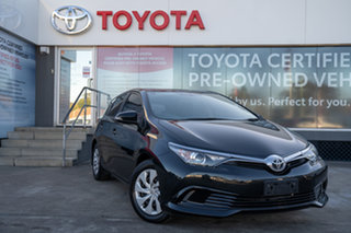 2016 Toyota Corolla ZRE182R Ascent S-CVT Ink 7 Speed Constant Variable Hatchback.