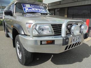 2000 Nissan Patrol GU II ST Grey 5 Speed Manual Wagon.