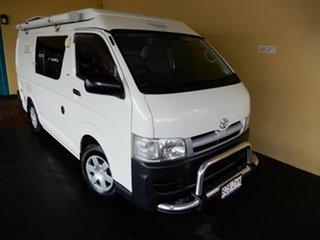 2006 Toyota HiAce TRH201R LWB White 5 Speed Manual Van