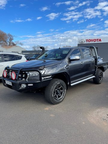 Pre-Owned Ford Ranger PX MkII MY17 XLT 3.2 (4x4) Wellington, 2017 Ford Ranger PX MkII MY17 XLT 3.2 (4x4) 6 Speed Automatic Dual Cab Utility