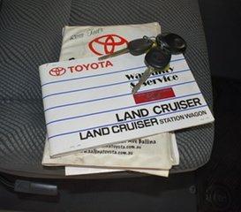 2009 Toyota Landcruiser VDJ79R GXL (4x4) White 5 Speed Manual Cab Chassis.
