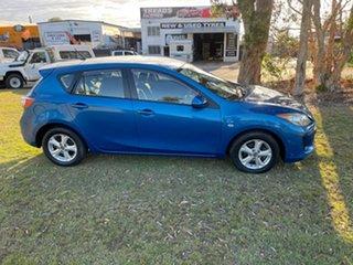2012 Mazda 3 BL10F2 MY13 Maxx Sport Blue 6 Speed Manual Hatchback
