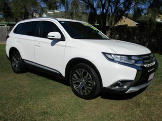 2015 Mitsubishi Outlander ZK MY16 XLS 2WD White 6 Speed Constant Variable Wagon