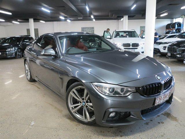 Used BMW 4 Series F33 420i M Sport Albion, 2014 BMW 4 Series F33 420i M Sport Grey 8 Speed Sports Automatic Convertible