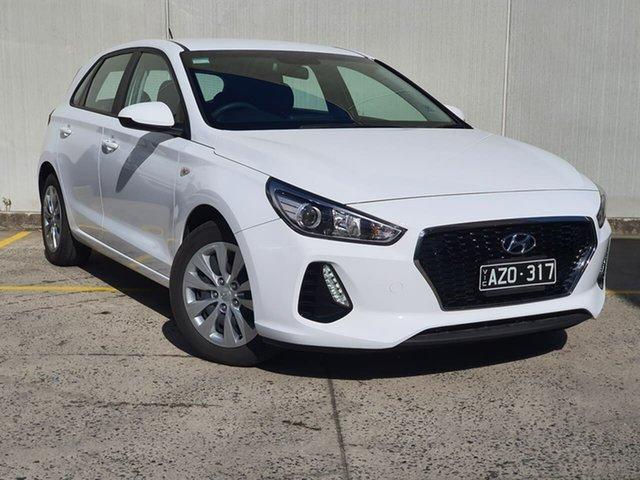 Used Hyundai i30 PD MY18 Go Oakleigh, 2018 Hyundai i30 PD MY18 Go White 6 Speed Sports Automatic Hatchback