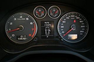 2011 Audi A3 8P MY12 Sportback 1.8 TFSI Ambition Silver 7 Speed Auto Direct Shift Hatchback