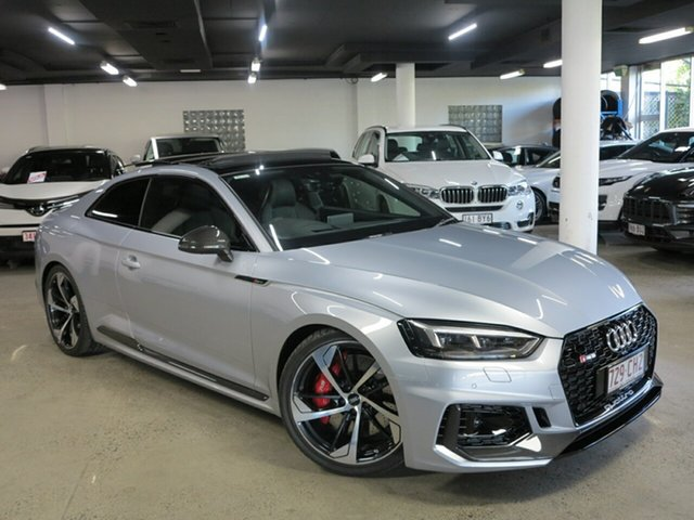 Used Audi RS5 F5 MY18 Tiptronic Quattro Albion, 2017 Audi RS5 F5 MY18 Tiptronic Quattro Silver 8 Speed Sports Automatic Coupe