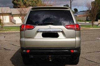 2010 Mitsubishi Challenger PB LS (7 Seat) (4x4) Beige 5 Speed Automatic Wagon.