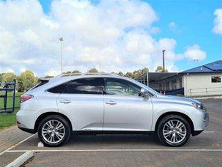 2014 Lexus RX GYL15R RX450h Luxury Silver 6 Speed Constant Variable Wagon Hybrid.