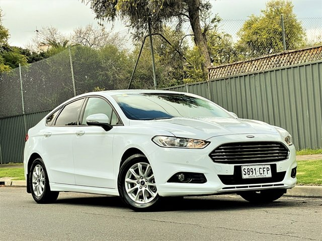 Used Ford Mondeo MD Ambiente Hyde Park, 2016 Ford Mondeo MD Ambiente White 6 Speed Sports Automatic Hatchback