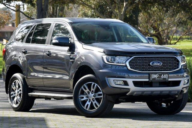 Used Ford Everest UA II 2021.25MY Trend Dandenong, 2021 Ford Everest UA II 2021.25MY Trend Grey 6 Speed Sports Automatic SUV