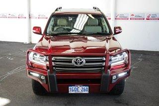2018 Toyota Landcruiser VDJ200R MY16 VX (4x4) Merlot Red 6 Speed Automatic Wagon.