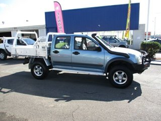 2006 Holden Rodeo LX 4x4 Blue 5 Speed Manual Dual Cab.