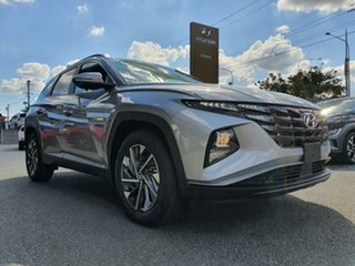 2021 Hyundai Tucson NX4.V1 MY22 Elite AWD Shimmering Silver 8 Speed Sports Automatic Wagon.