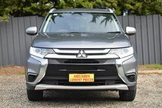 2018 Mitsubishi Outlander ZL MY18.5 ES 2WD Grey 5 Speed Manual Wagon.