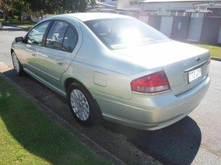 2002 Ford Fairmont BA Green Automatic Sedan