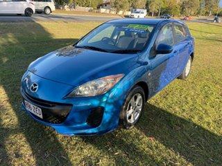 2012 Mazda 3 BL10F2 Maxx Sport Blue 6 Speed Manual Hatchback.