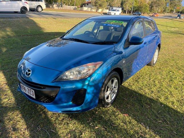 Used Mazda 3 BL10F2 Maxx Sport Clontarf, 2012 Mazda 3 BL10F2 Maxx Sport Blue 6 Speed Manual Hatchback