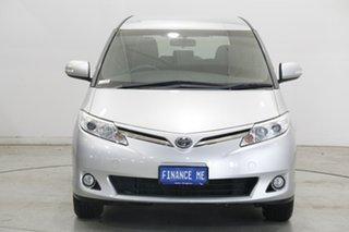 2016 Toyota Tarago ACR50R GLi Silver 7 Speed Constant Variable Wagon.