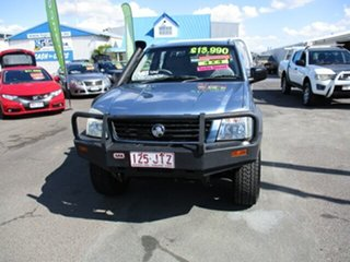 2006 Holden Rodeo LX 4x4 Blue 5 Speed Manual Dual Cab