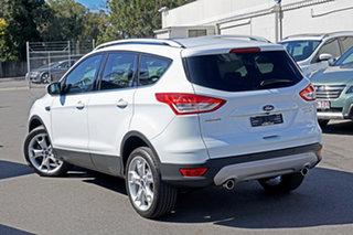 2015 Ford Kuga TF MY16 Titanium PwrShift AWD White 6 Speed Sports Automatic Dual Clutch Wagon.