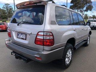 2003 Toyota Landcruiser UZJ100R Sahara (4x4) Warm Silver 5 Speed Automatic Wagon