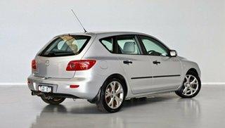2005 Mazda 3 BK10F1 Neo Silver 4 Speed Sports Automatic Hatchback.