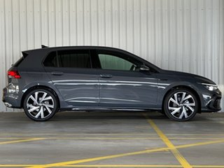 2021 Volkswagen Golf 8 MY21 110TSI R-Line Grey 8 Speed Sports Automatic Hatchback.
