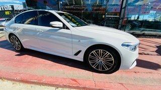 2018 BMW 5 Series G30 530d Steptronic M Sport White 8 Speed Sports Automatic Sedan.