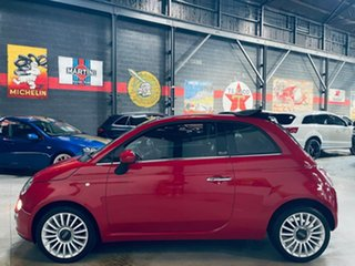 2013 Fiat 500C Series 1 Lounge Red 5 Speed Manual Convertible