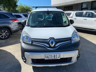 2015 Renault Kangoo F61 Phase II Maxi Crew White 6 Speed Manual Van.