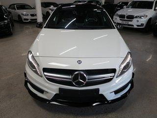 2015 Mercedes-Benz A-Class W176 805+055MY A45 AMG SPEEDSHIFT DCT 4MATIC White 7 Speed.