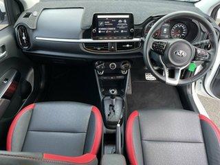 2020 Kia Picanto JA MY20 GT-Line White 4 Speed Automatic Hatchback.