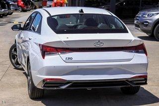 2021 Hyundai i30 CN7.V1 MY21 Active White 6 Speed Manual Sedan