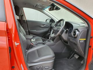 2018 Hyundai Kona OS MY18 Highlander D-CT AWD Orange 7 Speed Sports Automatic Dual Clutch Wagon