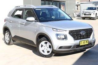 2020 Hyundai Venue QX MY20 Go Silver 6 Speed Automatic Wagon.
