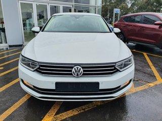 2018 Volkswagen Passat 3C (B8) MY18 132TSI DSG White 7 Speed Sports Automatic Dual Clutch Sedan.