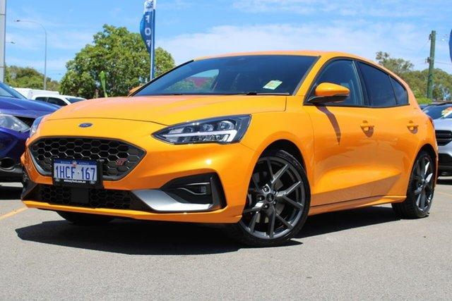 Used Ford Focus SA 2020.25MY ST Midland, 2020 Ford Focus SA 2020.25MY ST Orange 6 Speed Manual Hatchback