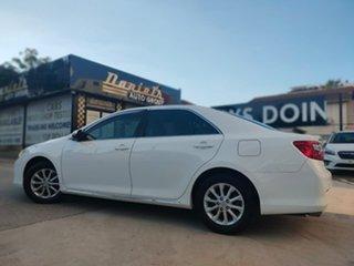 2014 Toyota Aurion GSV50R AT-X White 6 Speed Sports Automatic Sedan