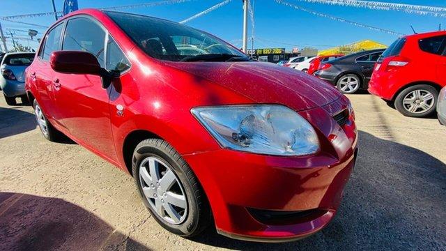 Used Toyota Corolla ZRE152R Ascent Maidstone, 2008 Toyota Corolla ZRE152R Ascent Red 4 Speed Automatic Hatchback
