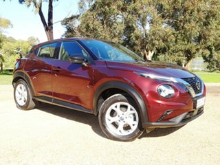 2020 Nissan Juke F16 ST+ DCT 2WD Red 7 Speed Sports Automatic Dual Clutch Hatchback.