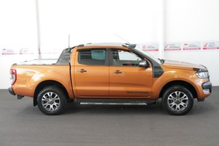 2015 Ford Ranger PX MkII Wildtrak 3.2 (4x4) Orange 6 Speed Manual Dual Cab Pick-up