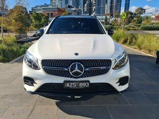 2017 Mercedes-Benz GLC-Class X253 808MY GLC43 AMG 9G-Tronic 4MATIC White 9 Speed Sports Automatic