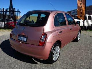 2008 Nissan Micra K12 Pink 4 Speed Automatic Hatchback.