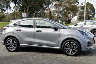 2020 Ford Puma JK 2020.75MY ST-Line Silver, Chrome 7 Speed Sports Automatic Dual Clutch Wagon.