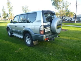 1999 Toyota Landcruiser Prado VZJ95R VX Silver Automatic Wagon